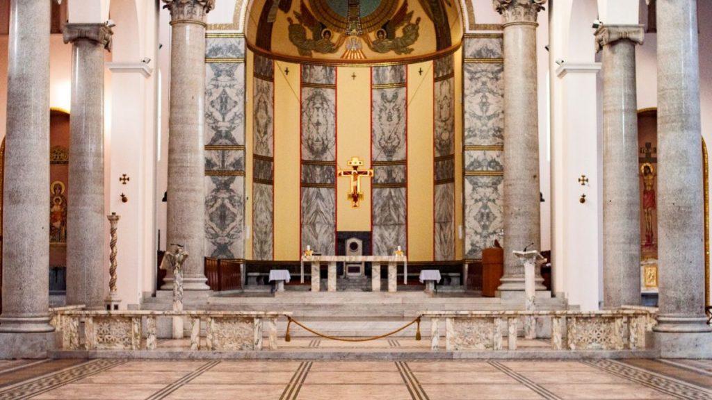 Vespri a Sant'Anselmo all'Aventino