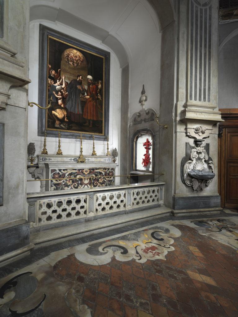 仁慈山教堂 (Pio Monte della Misericordia) 的巴洛克印记